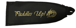 Dragon Boat Paddle Cover Black