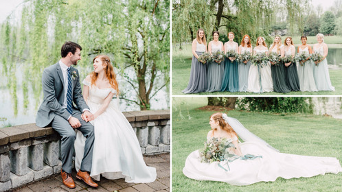 "A Mystical ""Little Mermaid"" Inspired Wedding Right Out Of Your Disney Dreams"