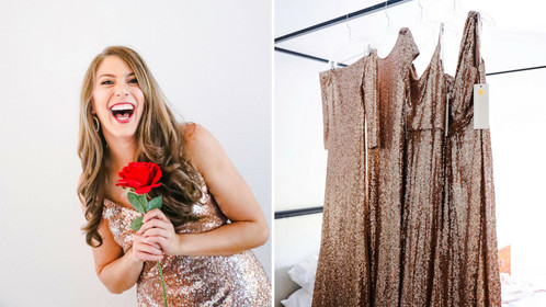 "Pizza, Wine, And Sequins Come Together For The Perfect ""Bachelorette"" Watch Party"