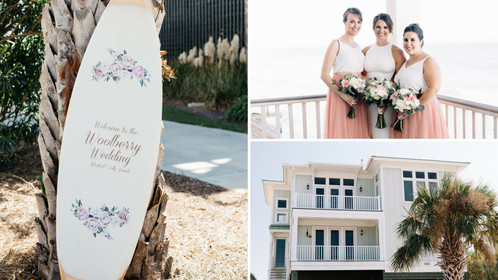 This Charming Charleston Beach Wedding is the Epitome of Vintage Cool