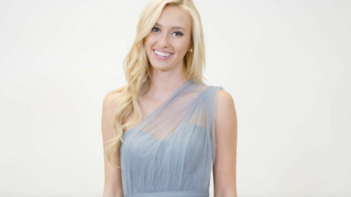 How To Tie The Rosalie Convertible Tulle Dress: One Shoulder Styles