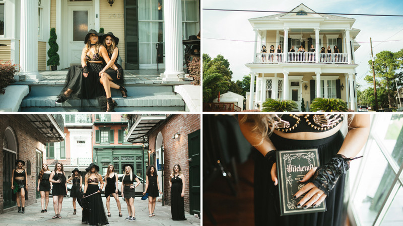 This Witchy Bachelorette Photo Shoot Will Give You All The Fall Feels