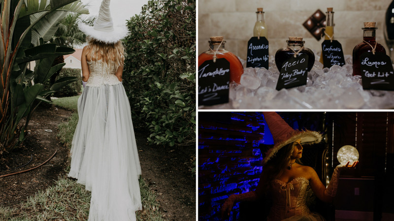 a magical harry potter bridal shower that puts hogwarts