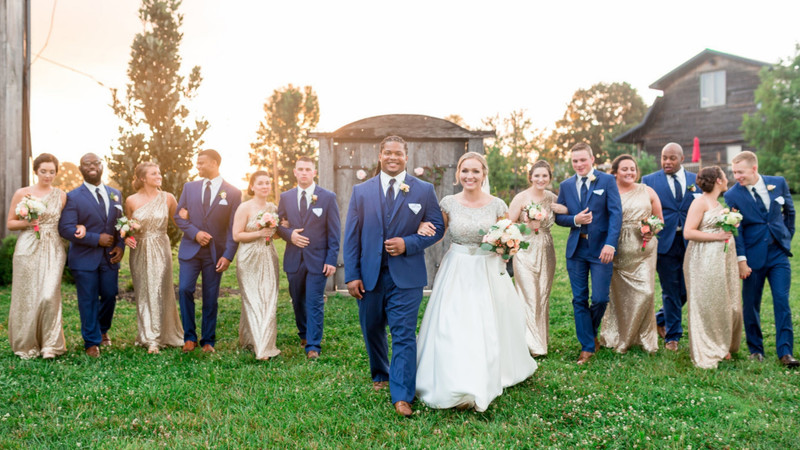 Rustic Chic Meets Glam In This Glittering Kentucky Wedding