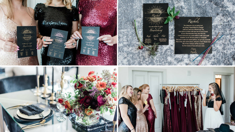 Finally The Bride: Coven-Themed Try On Party