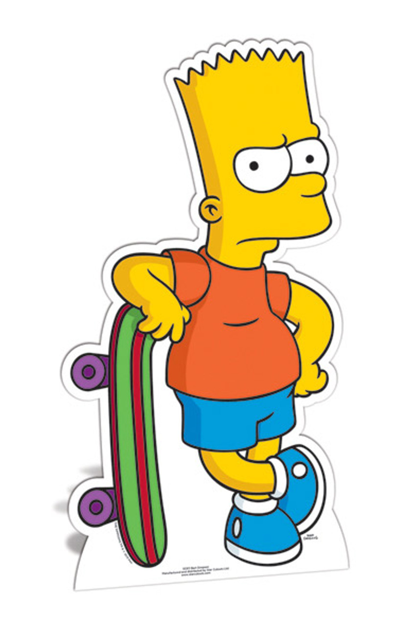 Clip Art Bart Simpson Walpaper - Bart Simpson Desenho