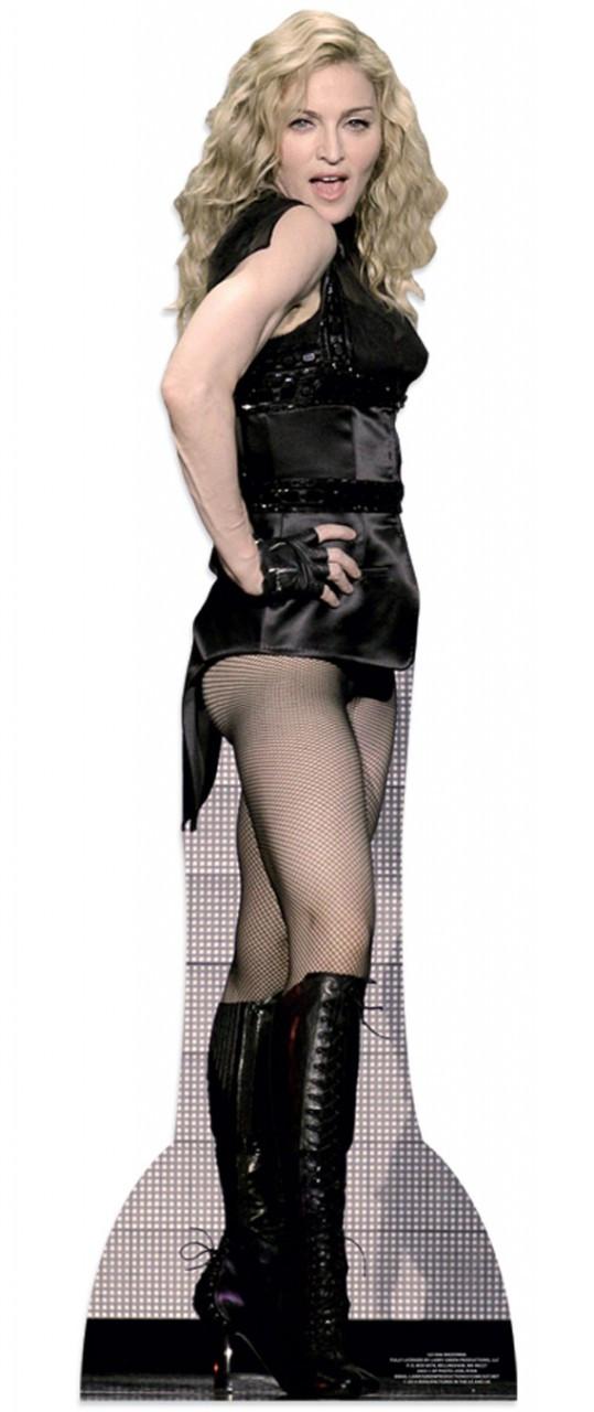 Madonna Lifesize Cardboard Cutout Buy Madonna Cutouts