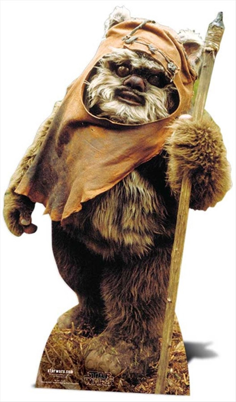 Wicket The Ewok From Star Wars Lifesize Cardboard Cutout