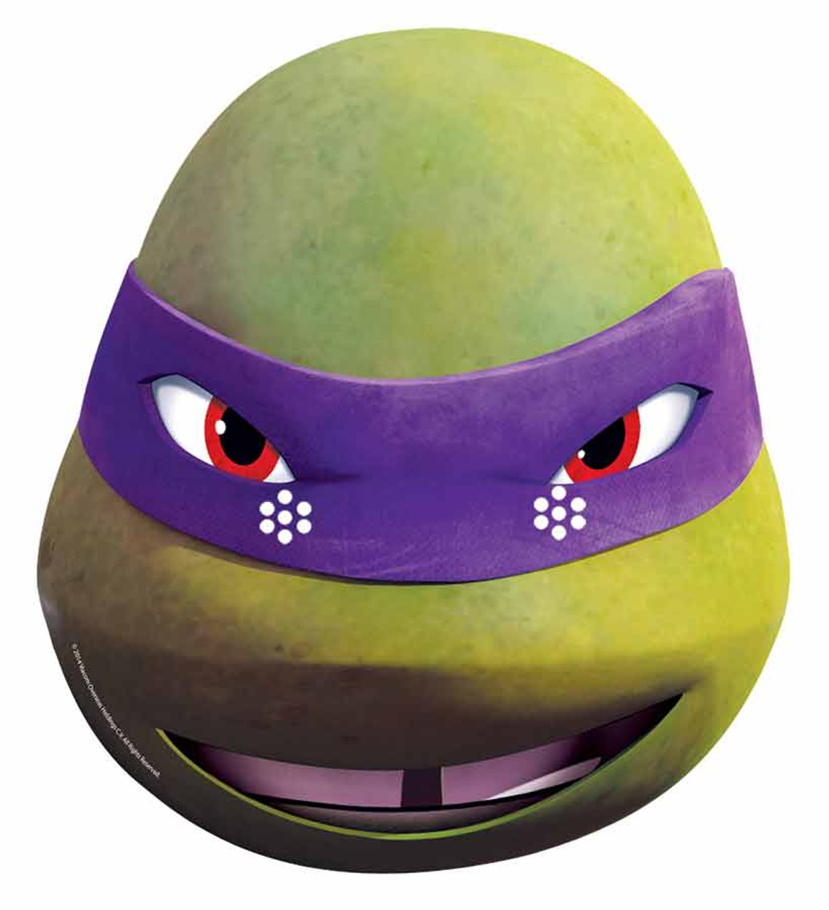 Donatello single teenage mutant ninja turtle card face mask available now at - Donatello tortue ...