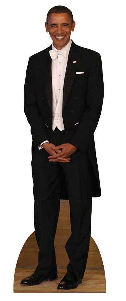 President Barack Obama Tuxedo Lifesize Cardboard Cutout