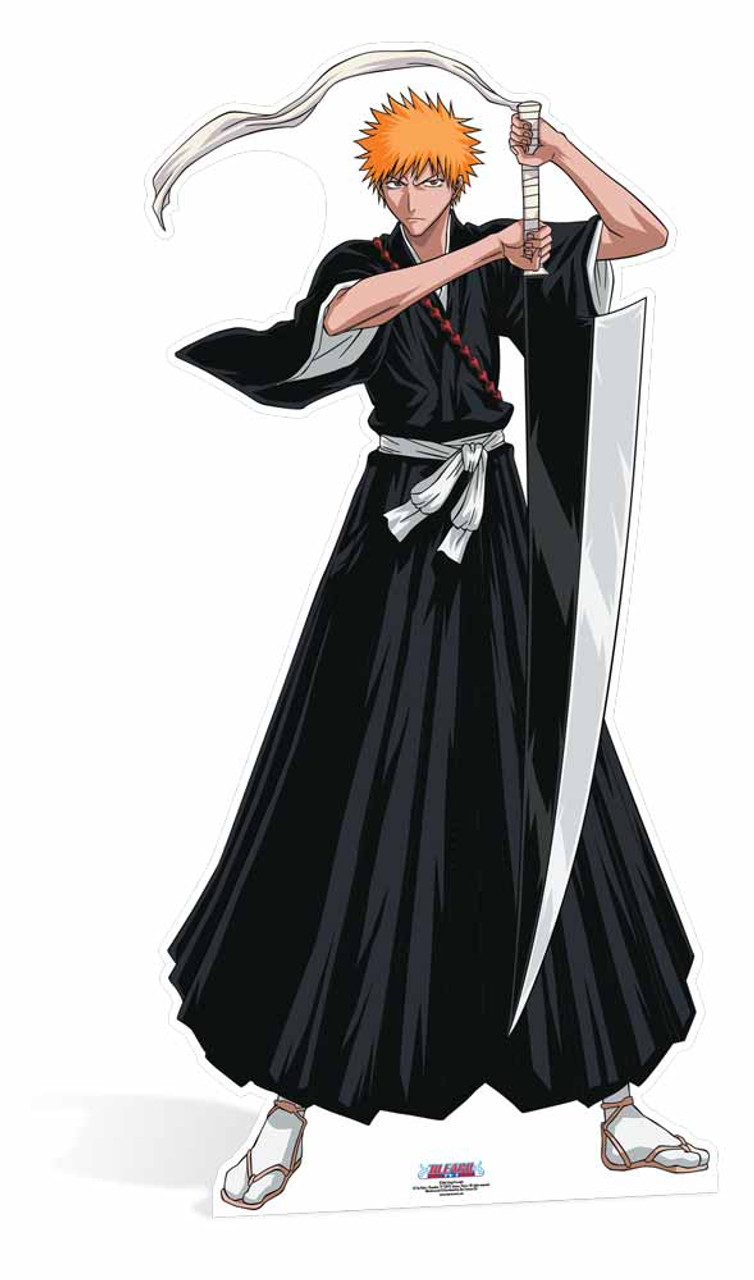 Ichigo Kurosaki From Bleach Lifesize Cardboard Cutout