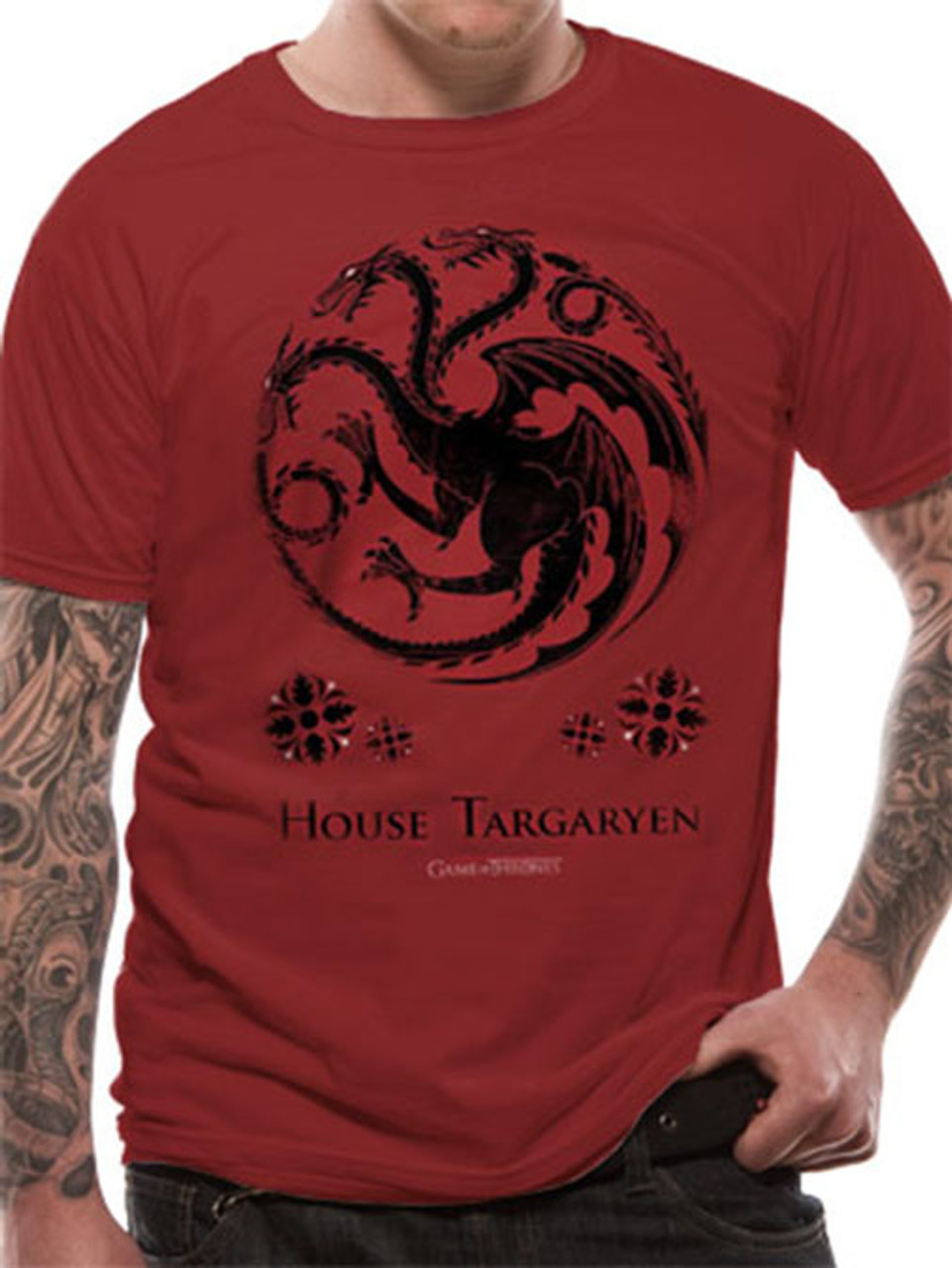 Game Of Thrones House Targaryen Sigil Official Unisex T Shirt