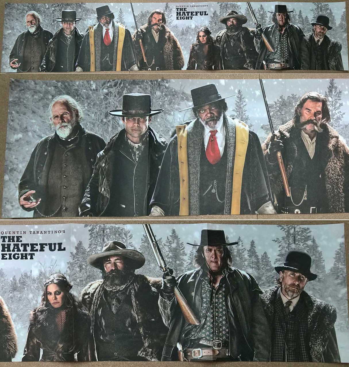 The Hateful Eight Original Movie Poster Single Sided