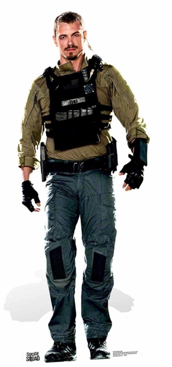 Rick Flag Suicide Squad Movie Lifesize Cardboard Cutout
