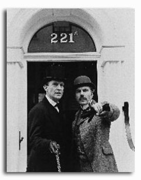 (SS158236) Cast   The Adventures of Sherlock Holmes Television Photo