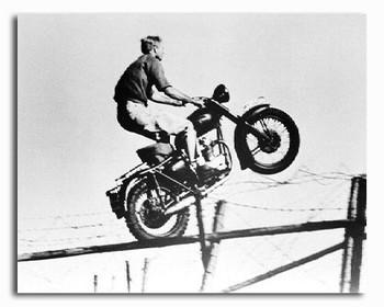 (SS187395) Steve McQueen  The Great Escape Movie Photo