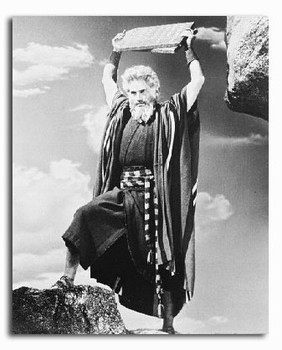 (SS2126878) Charlton Heston  The Ten Commandments Movie Photo