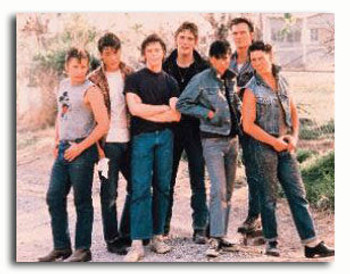 (SS2781012) Cast   The Outsiders Movie Photo