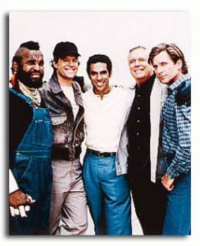 (SS3212495) Cast   The A-Team Television Photo