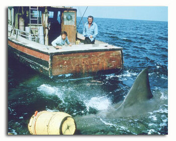 (SS3498677) Cast   Jaws Movie Photo