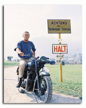 (SS3041090) Steve McQueen  The Great Escape Movie Photo