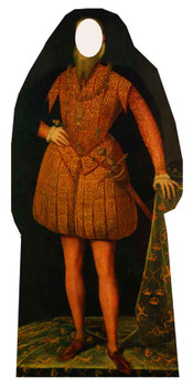 Tudor Man Stand in - Lifesize Cardboard Cutout / Standee