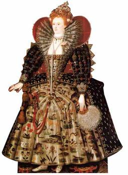 Queen Elizabeth I - Lifesize Cardboard Cutout / Standee