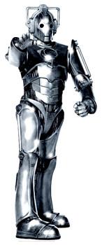 Cyberman Tabletop  (Doctor Who)- Tabletop Cardboard Cutout / Standee