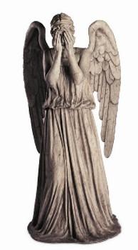 Weeping Angel Tabletop Cutout