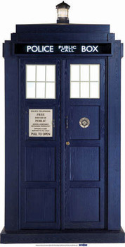 The Tardis Mini Cardbaord Cutout / Standee / Standup