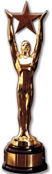 Star Award Cutout