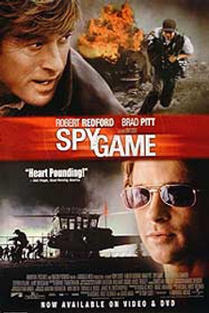 SPY GAME (SINGLE SIDED Video) (2001) ORIGINAL CINEMA POSTER