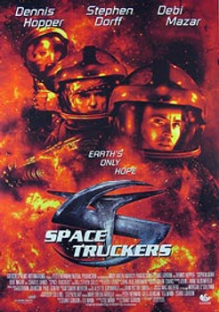 SPACE TRUCKERS (Video) (1996) ORIGINAL CINEMA POSTER