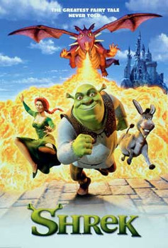 SHREK (Single Sided Regular Reprint) REPRINT POSTER