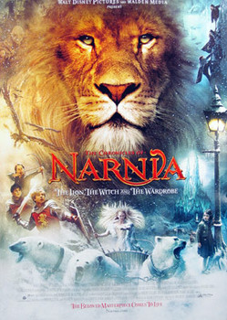 THE CHRONICLES OF NARNIA: THE LION, THE WITCH AND THE WARDROBE ORIGINAL CINEMA POSTER