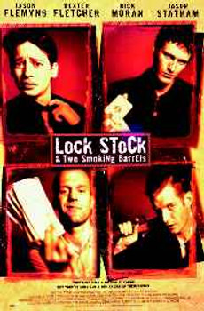 LOCK, STOCK & TWO SMOKING BARRELS (Int. Reprint) REPRINT POSTER