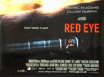 RED EYE ORIGINAL CINEMA POSTER