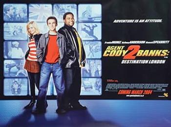 AGENT CODY BANKS 2: DESTINATION LONDON (single sided) ORIGINAL CINEMA POSTER