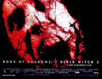 THE BLAIR WITCH PROJECT 2 ORIGINAL CINEMA POSTER