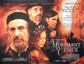 MERCHANT OF VENICE ORIGINAL CINEMA POSTER