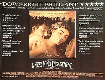 A VERY LONG ENGAGEMENT ORIGINAL CINEMA POSTER