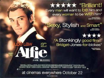ALFIE ORIGINAL CINEMA POSTER