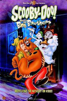 Scooby Doo Meets The Boo Brothers ORIGINAL CINEMA POSTER