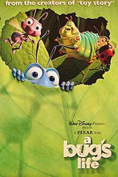 A BUG'S LIFE (Double Sided International) ORIGINAL CINEMA POSTER