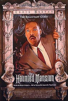 THE HAUNTED MANSION (Double Sided Regular The Reluctant Guest) ORIGINAL CINEMA POSTER
