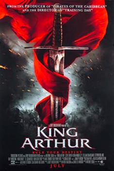 KING ARTHUR (Double Sided Regular) ORIGINAL CINEMA POSTER