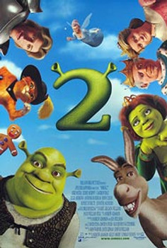 SHREK 2 (Double Sided Regular) ORIGINAL CINEMA POSTER