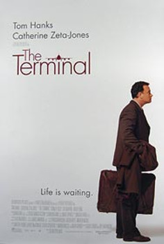 THE TERMINAL (Double Sided Regular) ORIGINAL CINEMA POSTER