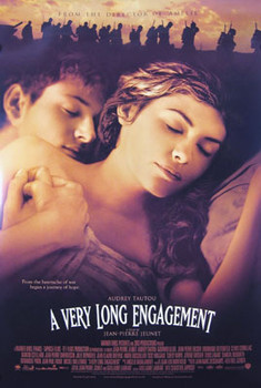 A VERY LONG ENGAGEMENT (Double Sided International) ORIGINAL CINEMA POSTER