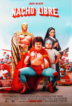 NACHO LIBRE (Double Sided Regular Style A) ORIGINAL CINEMA POSTER